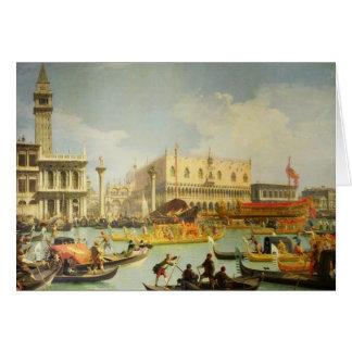Cartes Les fiançailles du doge vénitien vers l'Adriatique