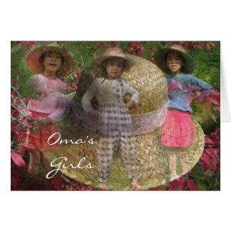 Cartes Les filles d'Oma