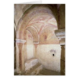 Cartes Les fresques de Carolingian dans la crypte