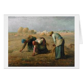 Cartes Les glaneurs, 1857