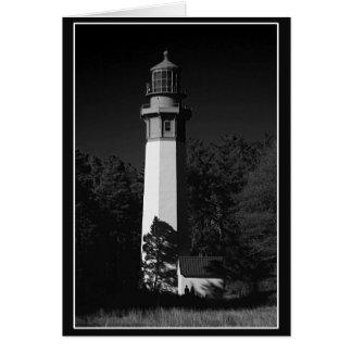 Cartes les gris hébergent le phare, westport, Washington,