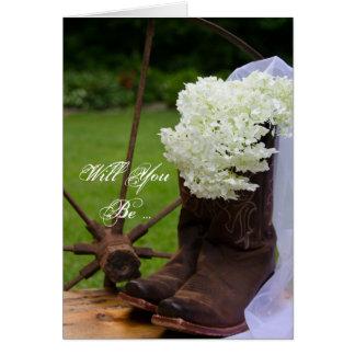 Cartes Les hortensias rustiques vous veulent soient ma