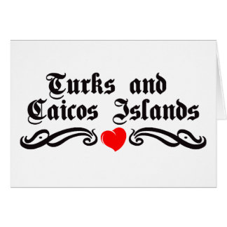 Cartes Les Îles Turques et Caïques