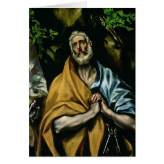 Cartes Les larmes de St Peter, 1580s en retard