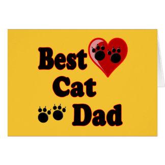 Cartes Les meilleurs cadeaux de papa de chat pour des