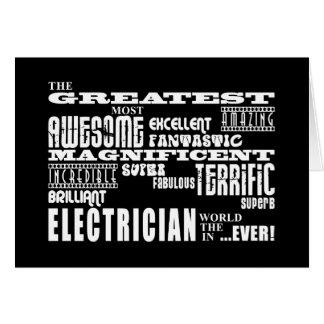 Cartes Les meilleurs électriciens : Le plus grand