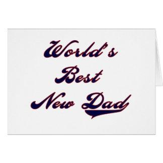 Cartes Les meilleurs nouveaux T-shirts et cadeaux du papa