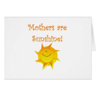 Cartes Les mères sont soleil