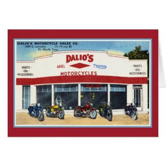 Cartes Les motos vintages Fort Worth de Dalio