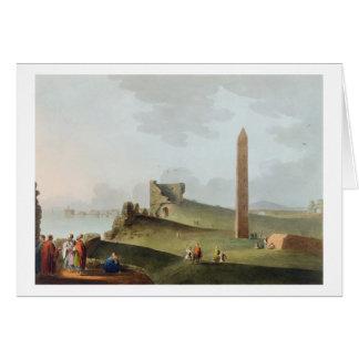 Cartes Les obélisques à l'Alexandrie, appelée Cléopâtre