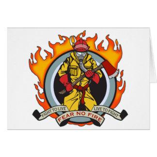 Cartes Les pompiers ne craignent aucun feu