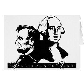 Cartes Les Présidents Day