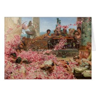 Cartes Les roses de Heliogabalus