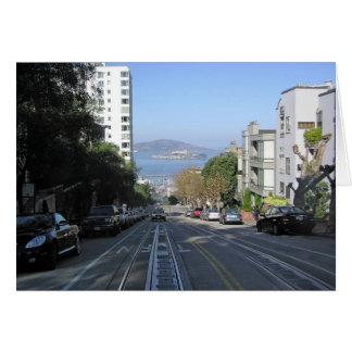 Cartes Les rues se renversantes de San Francisco