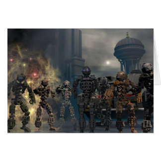 Cartes les sept robots glorieux b