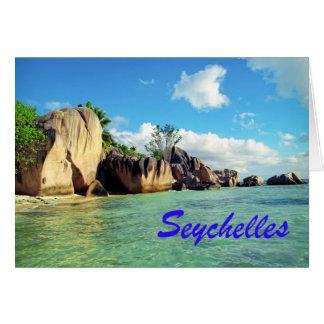 Cartes Les Seychelles