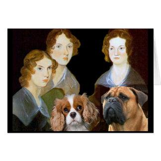 Cartes Les soeurs de Bronte et leurs chiens