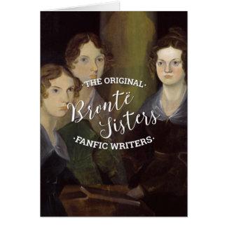 Cartes Les soeurs de Bronte - les auteurs originaux de