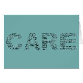 Cartes Les travailleurs d'hospice incarnent un esprit des