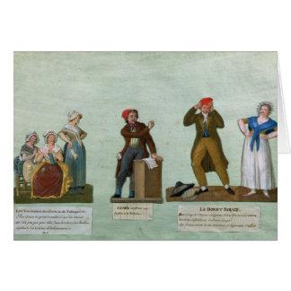 Cartes Les tricoteuses de Jacobin