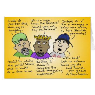 Cartes Les trois hommes Non-Ainsi-Sages