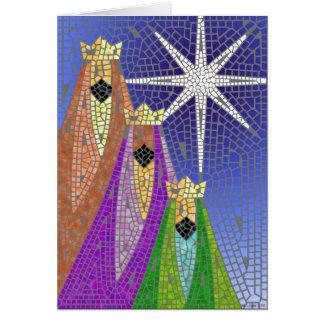 Cartes Les trois Rois Mosaic