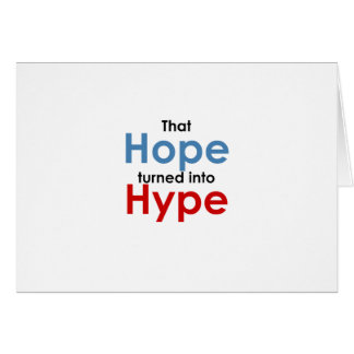 Cartes L'espoir est exagération : Anti-Obama