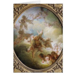 Cartes L'essaim des cupidons, c.1767