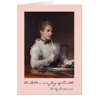 Cartes Lettres d'écriture