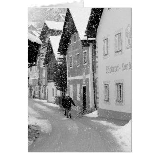 Cartes L'Europe, Autriche, Hallstat. Rue de Milou
