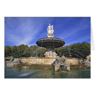 Cartes L'Europe, France, Aix-en-Provence. Fontaine De