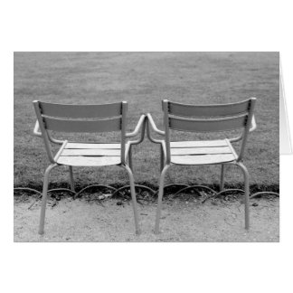 Cartes L'Europe, France, Paris. Chaises, Jardin du 2