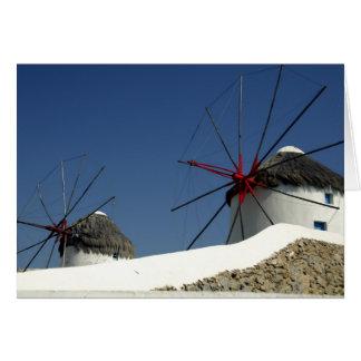 Cartes L'Europe, Grèce, Mykonos.