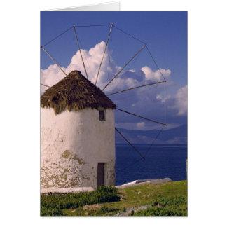 Cartes L'Europe, Grèce, Mykonos. Un blanc saisissant