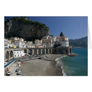 Cartes L'Europe, Italie, Campanie, (côte d'Amalfi),