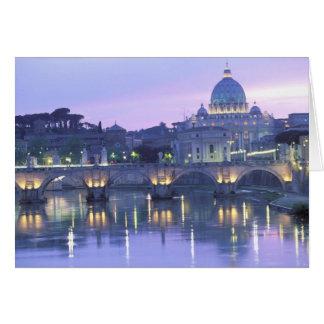 Cartes L'Europe, Italie, Rome, Vatican. St Peter et