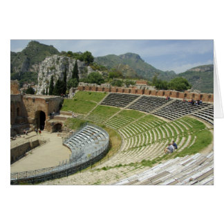 Cartes L'Europe, Italie, Sicile, Taormina. 3ème siècle