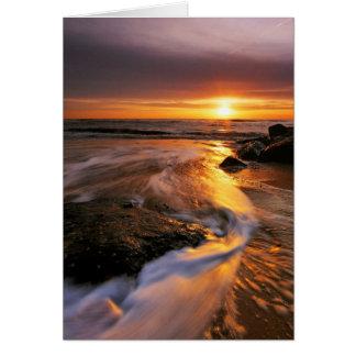 Cartes Lever de soleil 6. de plage de Southwold