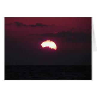 Cartes Lever de soleil au Mexique