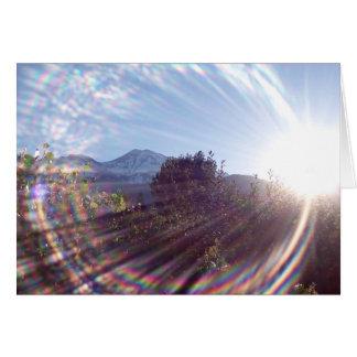 Cartes Lever de soleil de Mt. Shasta