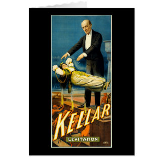 Cartes Lévitation de Kellar