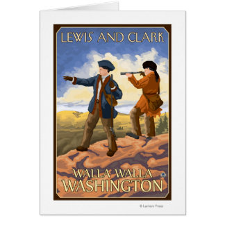 Cartes Lewis et Clark - Walla Walla, Washington