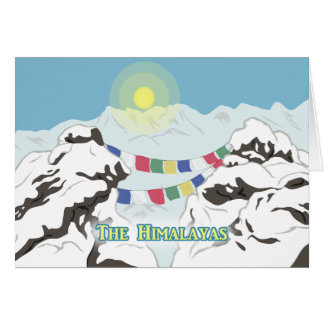 Cartes L'Himalaya