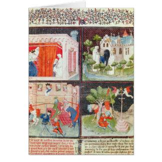 Cartes L'histoire de Lancelot