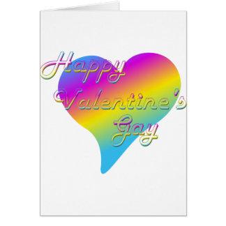 Cartes L'homosexuel heureux de Valentine