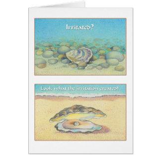 Cartes L'huître et la perle - 8h28 de Romains
