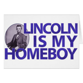 Cartes Lincoln est mon Homeboy