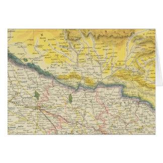 Cartes L'Inde et le Népal