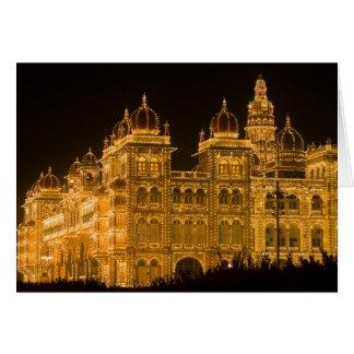 Cartes L'INDE, Karnataka, Mysore : Le palais de Majaraja
