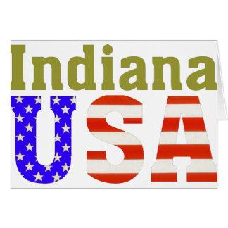 Cartes L'Indiana Etats-Unis !